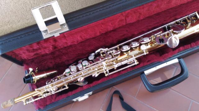Sax Soprano Grassi Professional 2000