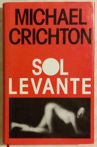 Sol levante di michael crichton; 1°edizione club, 1993 pari