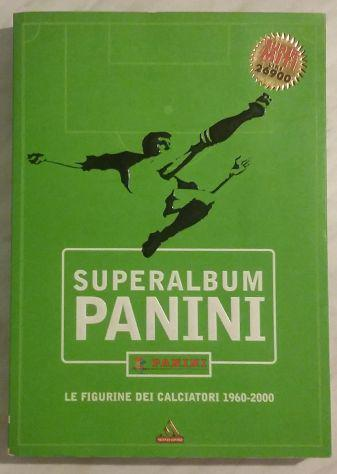 Superalbum panini. le figurine dei calciatori 1960-2000