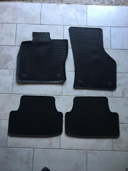 Opel Corsa D Premium Auto Fußmatte Gummimatte Matte schwarz