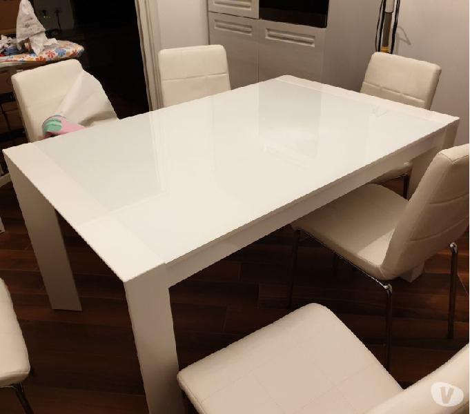 Tavolo estensibile sedie 【 OFFERTES Agosto 】 | Clasf