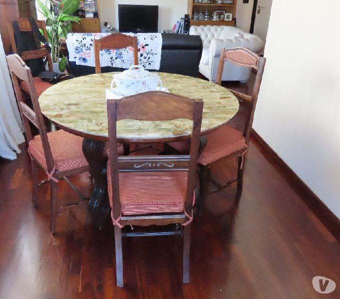 Vendita tavolo e sedie per salotto