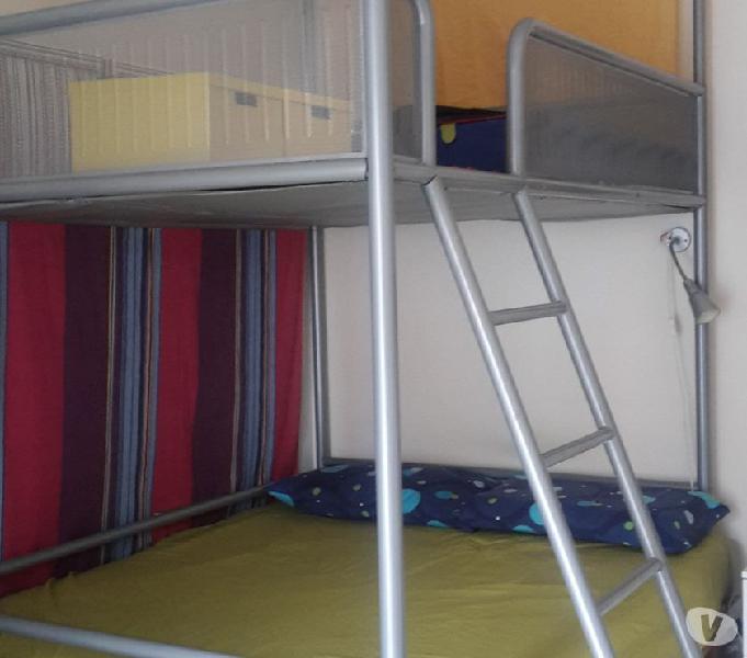 Letto A Soppalco Matrimoniale Ikea.Soppalco Legno Ikea Offertes Maggio Clasf