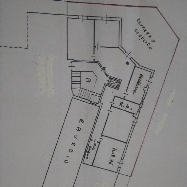 Appartamento attico in zona centro