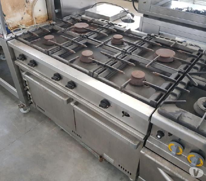 Cucine Usate Professionali.Cucina Professionale Fuochi Gas Offertes Ottobre Clasf