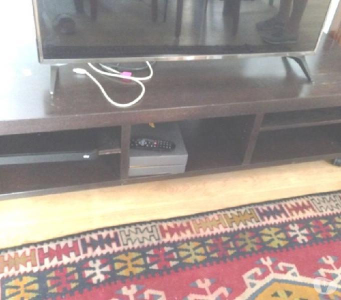 Mobile tv basso e lungo ikea wengé