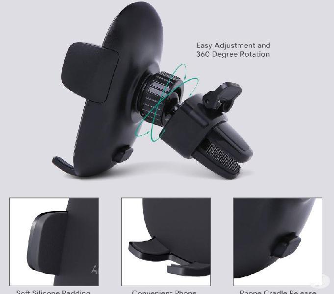 Aukey porta cellulare auto (2 pack) 360 gradi di rotazione s