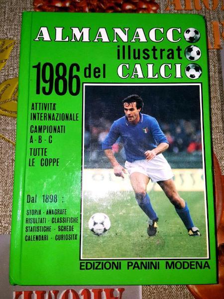 Almanacco panini 1986 originale