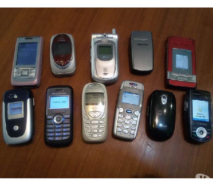Cellulari vari motorola,nokia,sony,lg,samsung dal 1997