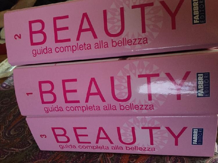 Collezione completa di beauty e body