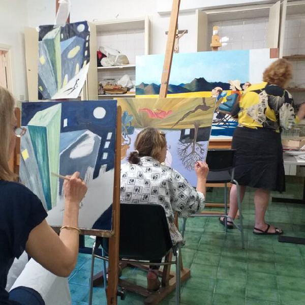 Corso di disegno e pittura atelier di monteverde