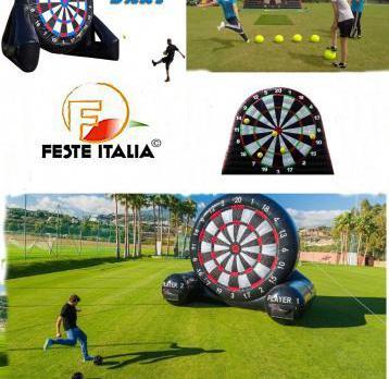 Foot darts soccer darts