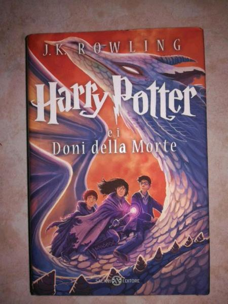 Libro harry potter e i doni della morte