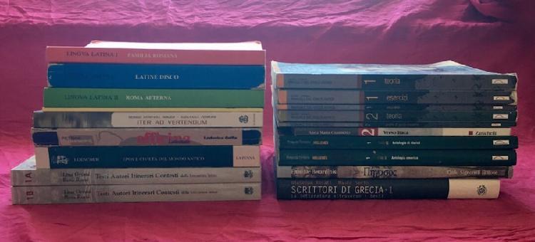 Libri scolastici per liceo classico parte 1 (di 3)
