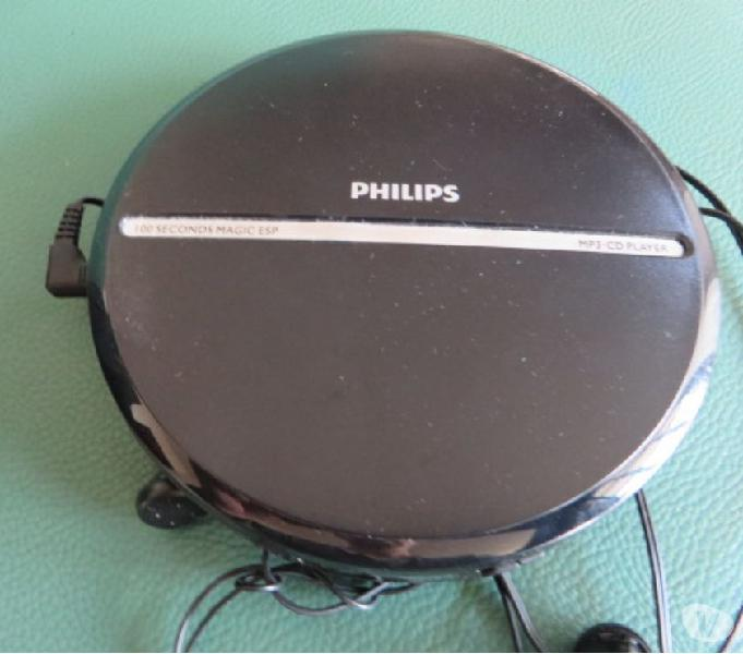 Philips lettore portatile mp3-cd player