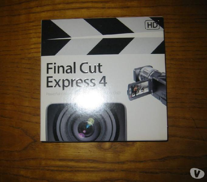 Programma per mac final cut express 4 nuovo.