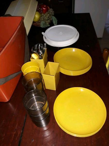 Valigetta x picnic con accessori jo style