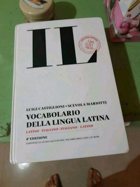 Vocabolario latino il