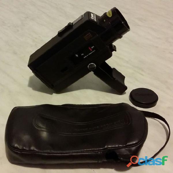 Cinepresa canon auto zoom 318m super8+custodia originale in similpelle come nuova