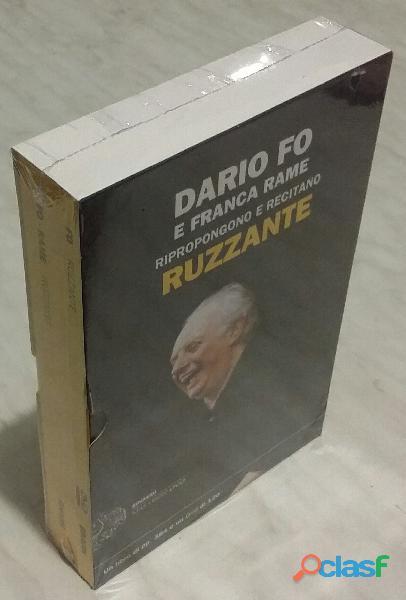 Dario Fo e Franca Rame ripropongono e recitano Ruzzante. Con DVD Ed.Einaudi 2012 nuovo con cellophan