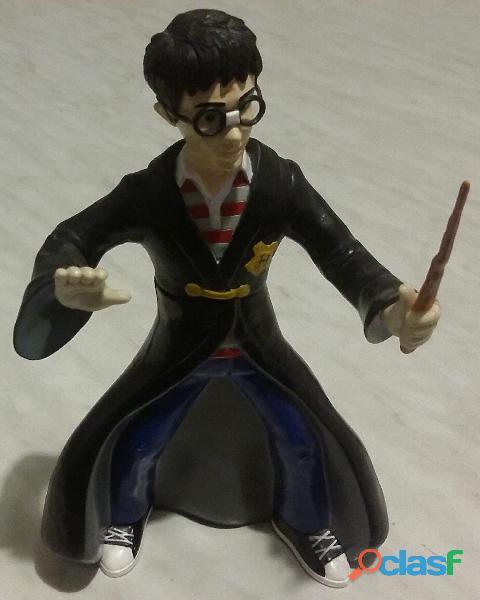 Harry potter con la bacchetta magica scala 1:6 busto girevole 360° warner bros s01 nuovo