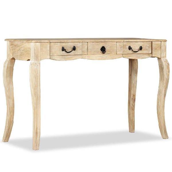Vidaxl tavolino consolle in legno massello di mango