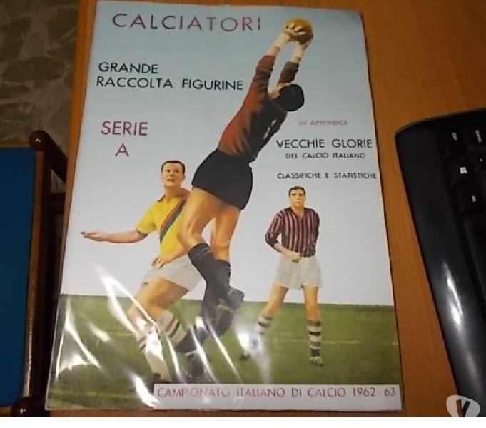 Album calciatori panini blisterato 1962-63 + set figurine