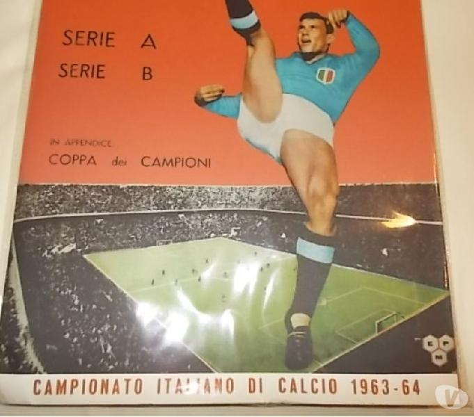 Album calciatori panini blisterato 1963-64 + set figurine
