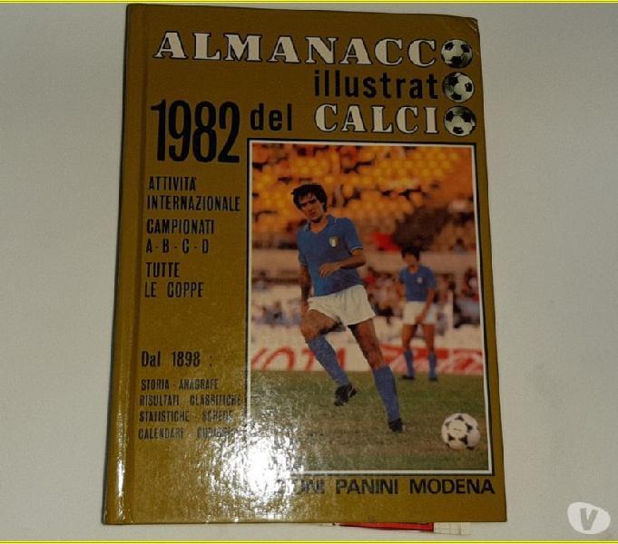 Almanacco illustrato del calcio 1982 ed. panini
