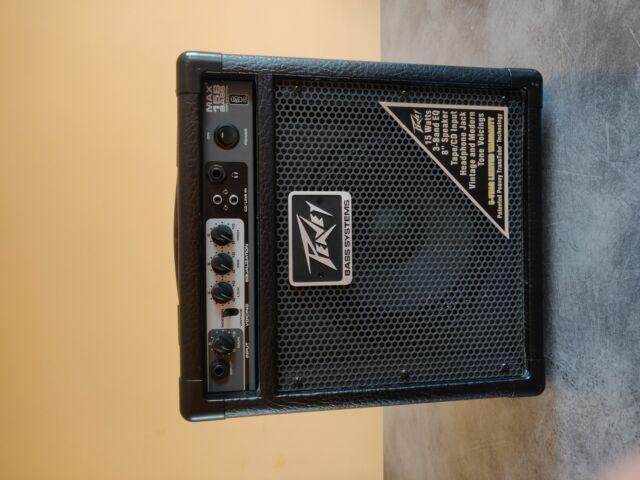 Amplificatore peavey max 158 bass