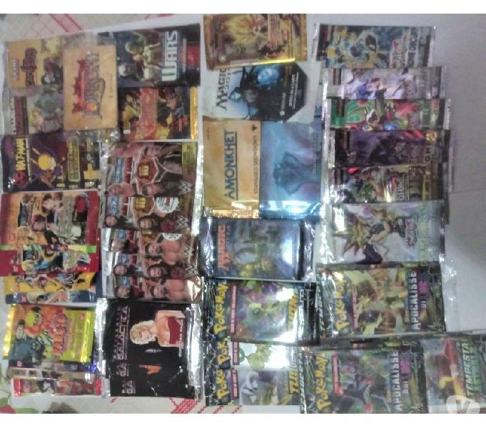 Buste con carte di collezionare pokemon,magic e tanti altri