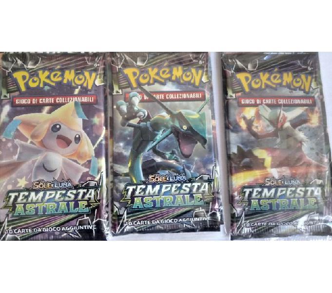 Buste nuove di carte collezzionabili pokemon, magic