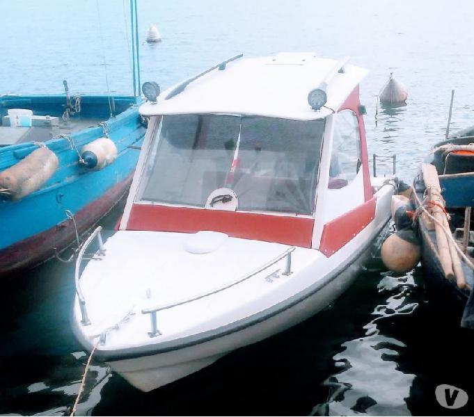Barca motore e carrello