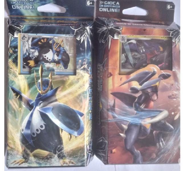 Carte da collezionare in buste pokemon, wwe e tanti altri