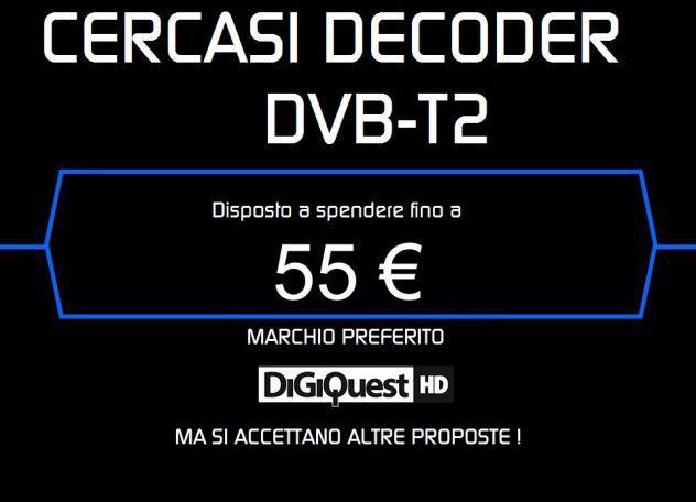 Cerco Decoder DVB-T2 Recorder HD