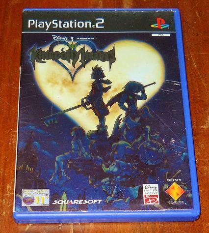 Kingdom Hearts gioco ps2 playstation 2 square enix RPG GDR