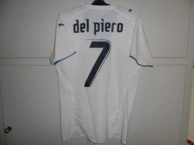 Maglia italia match worn del piero 2006