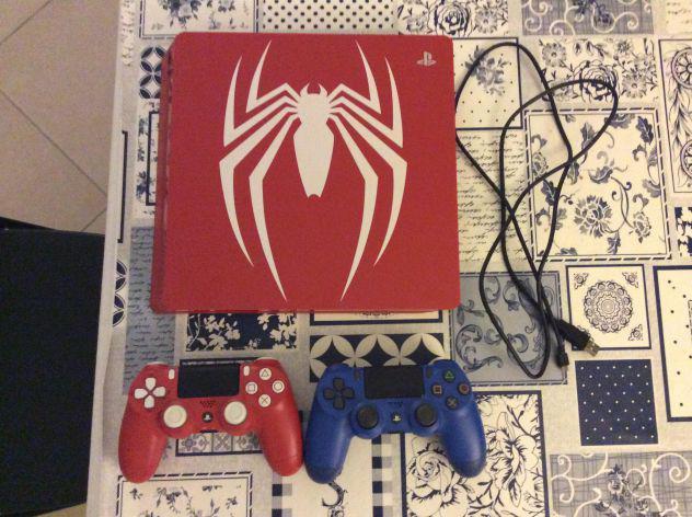 PS4 500 GB Spiderman