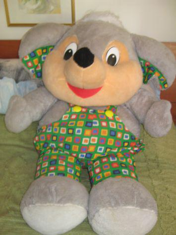 Peluche pupazzo gigante topo made in Italy Inter toys