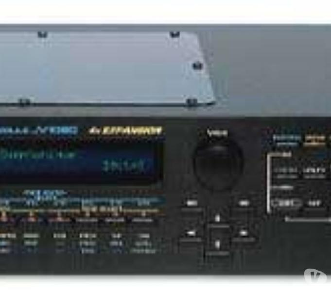 Roland jv1080-jv880 + xv2020 + korg m1rex + card