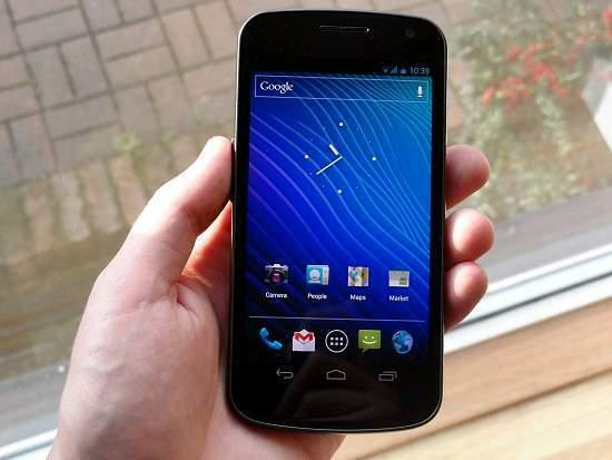 Samsung galaxy nexus gt-i9250 + supporto per auto