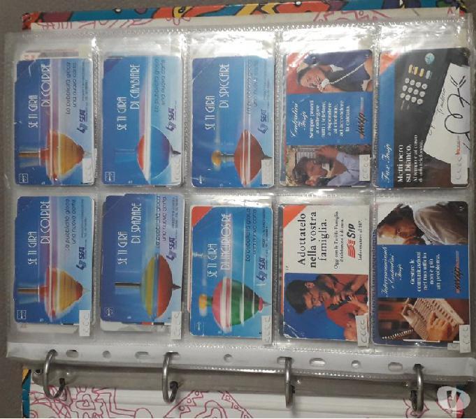 Schede telefoniche per collezionisti vendo blocchi o singole