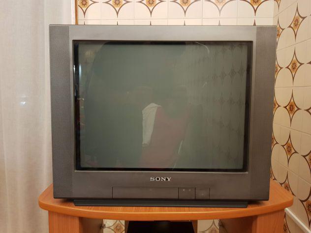 TV CRT Sony Trinitron 21 pollici + Panasonic 14 pollici