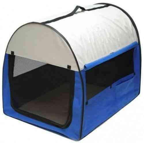 Trasportino pieghevole gabbia box per auto per cani gatto