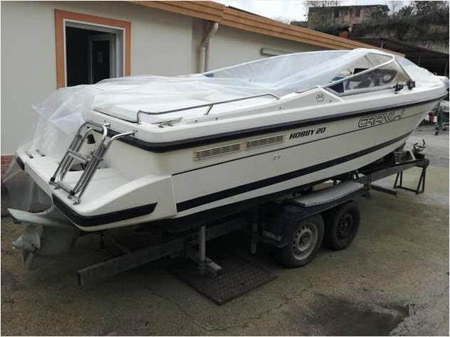 Barca a motorecranchi wa cranchi 20 4t efb anno2000