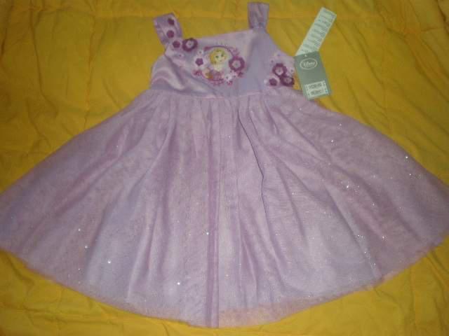 Bellissimo vestito rapunzel compleanno