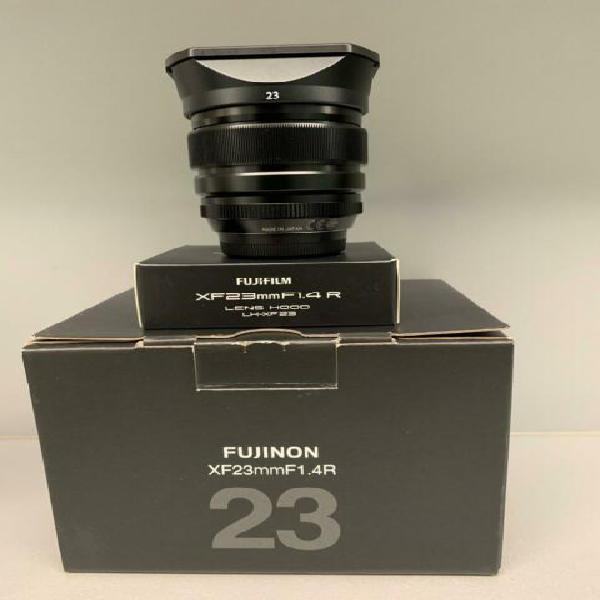 Fujifilm xf 23 mm con anello in paraluce usato funzionante