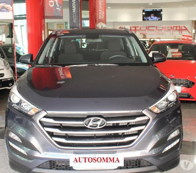 Hyundai tucson 1.7 crdi 115 cv sound edition italiana