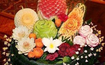 Intaglio frutta - verdura