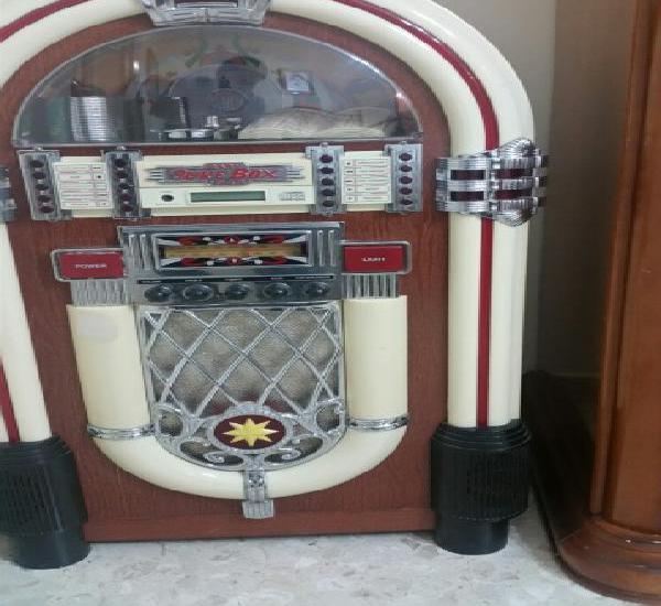 Juke box radio/cd/cassett